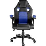 tectake Mike Gaming Chair - Black/Blue