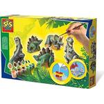 Animals - Creativity Sets SES Creative Dinosaurs Casting & Painting Set 01406