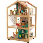 Doll House - Fabric Kidkraft So Stylish Mansion Dollhouse with EZ Kraft Assembly