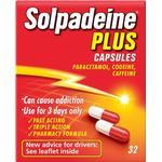 Caffeine Medicines Solpadeine Plus 500mg 32pcs