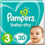 Pampers Baby Dry Nappies Size 3