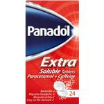 Pain & Fever Panadol Extra 500mg/65mg 24pcs