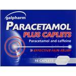 Caffeine - Cold Medicine Paracetamol Plus 500mg 16pcs