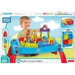 Blocks - Plasti Fisher Price Build N Learn Table