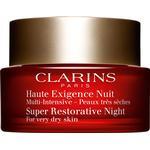 Night Cream - Dermatologically Tested Clarins Super Restorative Night Cream for Very Dry Skin 50ml