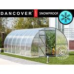 Freestanding Greenhouses - Round Dancover Strong 12m² Stainless steel Polycarbonate