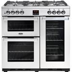 Gas Cooker Belling Cookcentre 90DFT Stainless Steel
