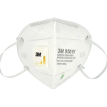 N95 - Face Masks 3M 9501v Protective Mask Class FFP2 with Valve KN95 Particulate Respirator 5-pack