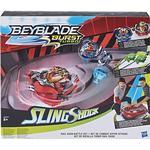 Beyblade - Beyblade Hasbro Beyblade Burst Slingshock Rail Rush Battle Set E3629EU4