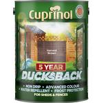 Wood Protection Cuprinol 5 Year Ducksback Wood Protection Brown 5L