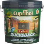 Wood Protection Cuprinol 5 Year Ducksback Wood Protection Silver 9L
