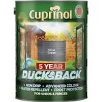 Wood Protection Cuprinol 5 Year Ducksback Wood Protection Silver 5L