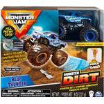 Toy Car - Metal Spin Master Monster Jam Blue Thunder Monster Dirt Starter Set 1:64