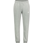Sportswear Nike Club Fleece Pants Men - Dark Gray Heather/Matte Silver/White