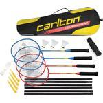 Badminton Set & Net Carlton Tournament 4 Player Set