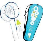 Badminton Set & Net Carlton Athens 2 Player Badminton Set