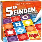 Family Board Games Haba 5er Finden
