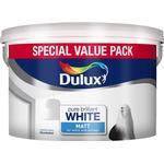 Dulux Matt Wall Paint, Ceiling Paint White 7L