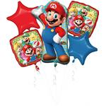 Amscan Foil Ballon Super Mario 5-pack