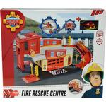 Metal - Play Set Dickie Toys Fireman Sam Fire Rescue Centre