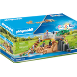 Play Set - Lion Playmobil Enclosure with Lions 70343