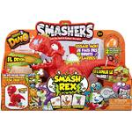 Play Set - Dinosaurie Zuru Smashers Series 3 Dino Smash Rex