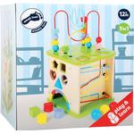 Activity Toys - Metal Small Foot Motor Skills World with Marble Run 10605