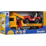 Toy Cars Bruder MAN TGA Breakdown Truck With Cross Country Vehicle 2750