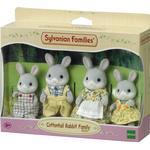 Dollhouse dolls - Bunny Sylvanian Families Cottontail Rabbit Family