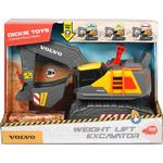 Sound - Toy Vehicles Dickie Toys Volvo Weight Lift Excavator