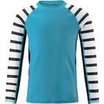 Girl - UV Shirt Children's Clothing Reima Madagaskar - Cyan Blue (536500C-7320)