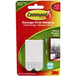 Wall Decorations 3M Command Medium 4-pack Picture hook