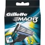 Razor Blades & Cartridges Gillette Mach3 12-pack