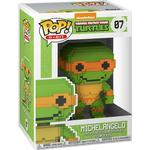 Turtles - Figurines Funko Pop! 8-Bit Teenage Mutant Ninja Turtles Michelangelo
