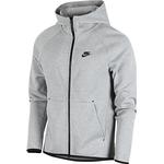 Sportswear Nike Tech Fleece Full Zip Hoodie Men - Dark Grey Heather/Black