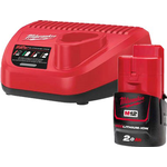 Power Tool Chargers - Red Milwaukee M12 NRG-201
