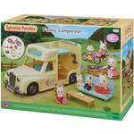 Dollhouse dolls Sylvanian Families Family Campervan