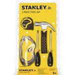 Toy Tools - Metal Stanley Jr 5 Piece Tool Set