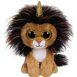 Soft Toys - Lion TY Beanie Boos Ramsey 17cm