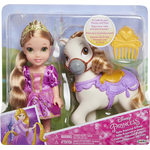 Fashion Dolls - Horse JAKKS Pacific Disney Princess Petite Rapunzel & Pony