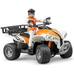 Toy Quad Bike - Plasti Bruder Quad with Driver 63000