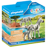 Figurines - Zebra Playmobil Zebras 70356