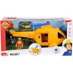 Toy Helicopter Simba Sam Helicopter Wallaby II with Figurine 109251002