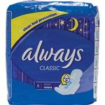 With Wings - Menstrual Pads Always Classic Night 8-pack