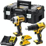 Screwdriver Dewalt DCK2059D2T Set