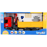 Plasti - Commercial Vehicle Bruder MB Arocs Construction Truck With Accessories 03651