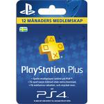 Redeem Cards - Sony Playstation 4 Sony PlayStation Plus - 365 days - SE