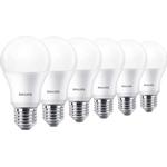 D - LED Lamps Philips 10.5cm LED Lamp 9W E27 6-pack