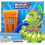 Water Balloons - Plasti Zuru Bunch O Balloons Launcher with Balloons