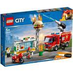Fire fighter - Lego City Lego City Burger Bar Fire Rescue 60214